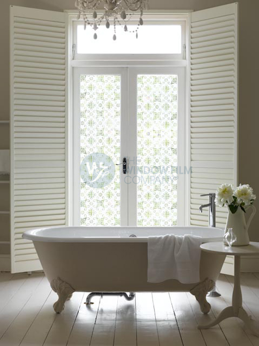 Image Result For Bathroom Window Film