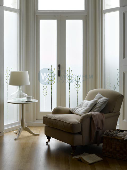 diy frosted window films