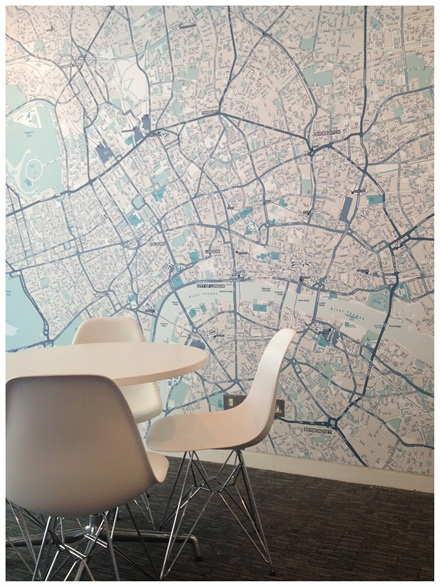 Bespoke printed maps company can also customise the colours featured on the map allowing you to create a fully bespoke design gumiabroncs Image collections