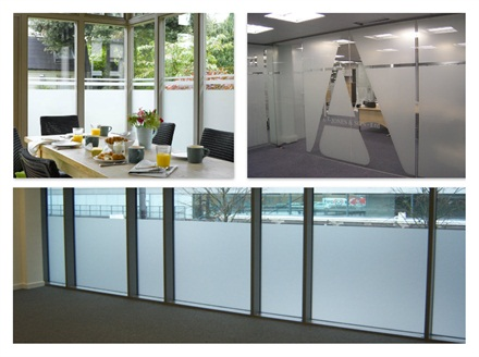 Frosted Window Film | Frosted Glass Window Film Designs