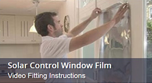 How To Install Solar Control Window Film