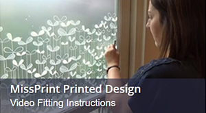 How To Install MissPrint Window Film: Video Fitting Instructions