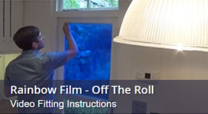 How To Fit Coloured Window Film Off The Roll