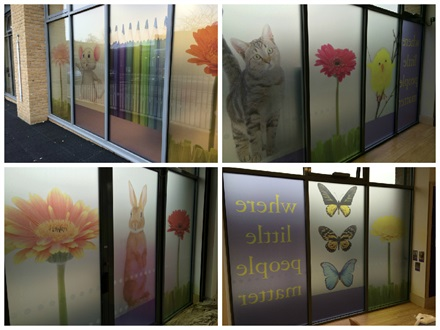 Printed Graphics And Safety For Gower School