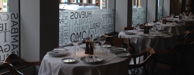 Custom Window Graphics Installation at a London Restaurant