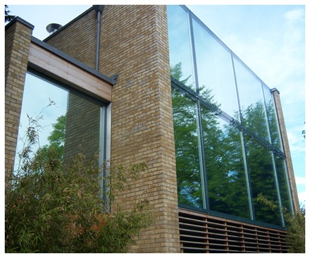 High reflective silver window film for modern house Window Film