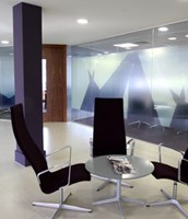 Office Branding by The Window Film Company