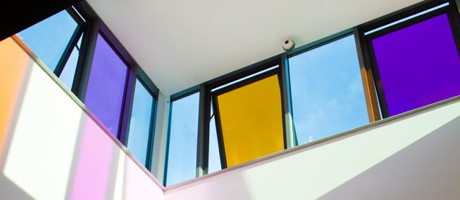 Brighten up your glazing with Rainbow Film