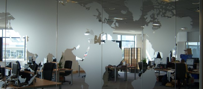 Glass Graphics From The Market Leader Window Film Company