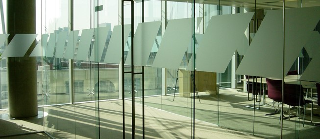 Glass Manifestation supplied and installed by The Window Film Company