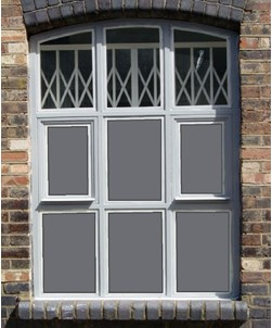Dark Grey Window Film 4224