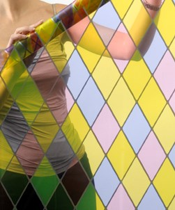 Stained Glass Effect Window Film - SG002