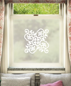 Moda Frosted Window Film Design