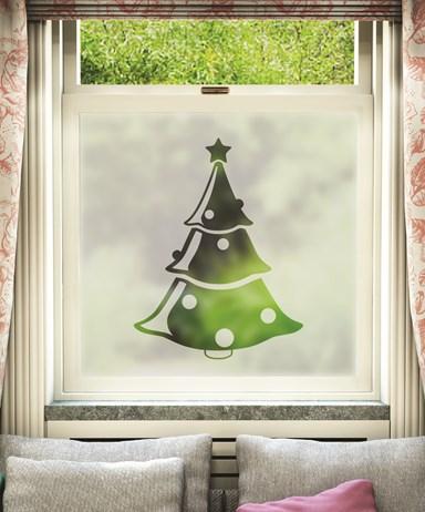 cut christmas design 003 - Christmas Decorative Window Film