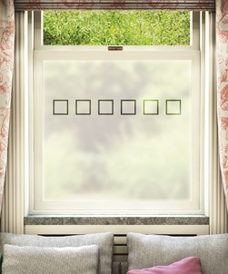 FB001 Frosted Window Film