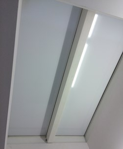 White Matt Frosted Privacy Window Film