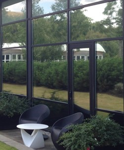High Reflective Silver Window Film for Daytime Privacy
