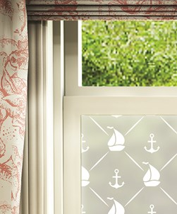 Barcos Window Film Frosted Design