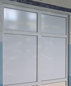 Temporary White Window Film 1520mm x 50m Roll